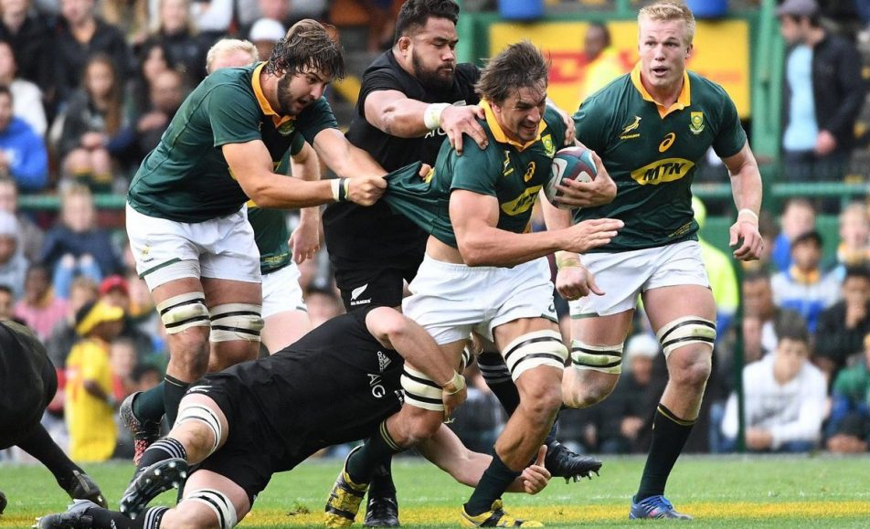 South Africa vs New Zealand – The Rugby Championship