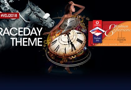 "2018 Vodacom Durban July theme ~  ""It Is Time"""