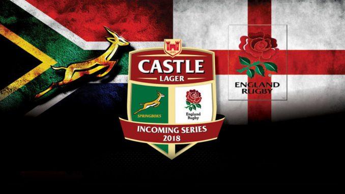 Springbok Squad for Emirates Park Test
