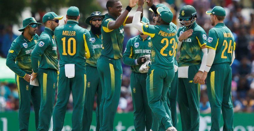 South Africa vs Pakistan Cricket - ODI Series - Beluga Hospitality- Protea Team