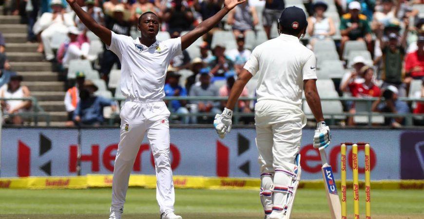 South Africa vs Pakistan - Test Cricket - Kagiso Rabada - Beluga Hospitality