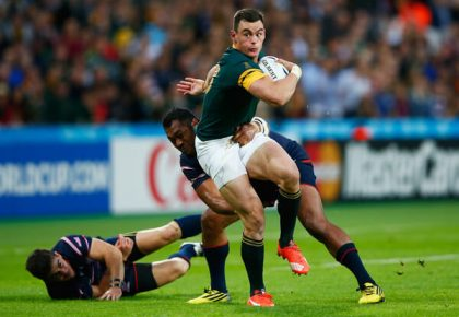 Rassie moves Kriel to wing for All Black clash