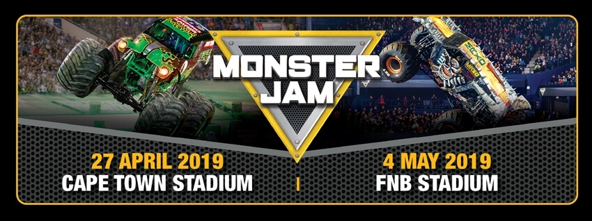 Monster Jam 2019 Cape Town Stadium Beluga Hospitality