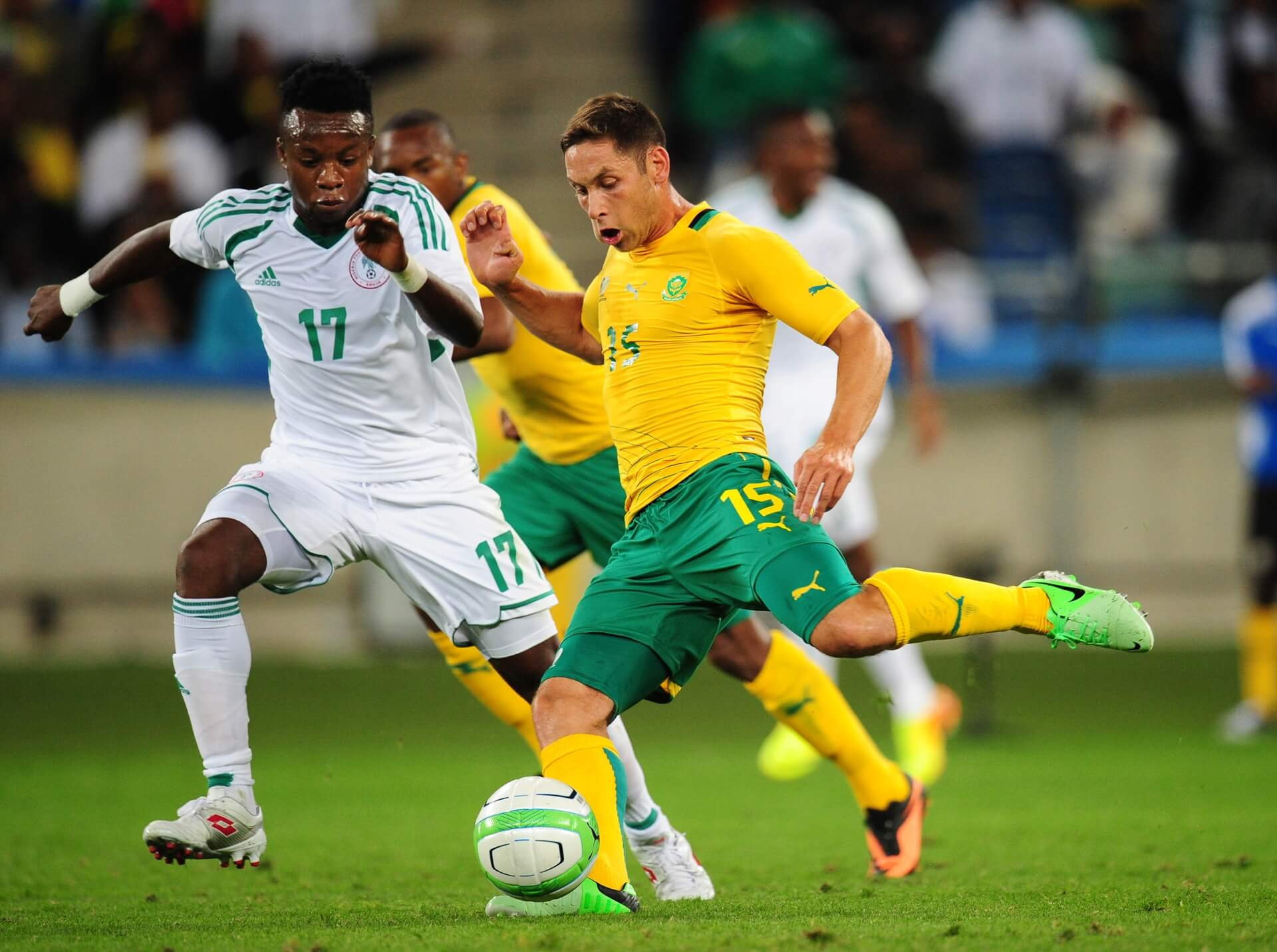South Africa Vs Nigeria AFCON Qualifiers 2019 Beluga