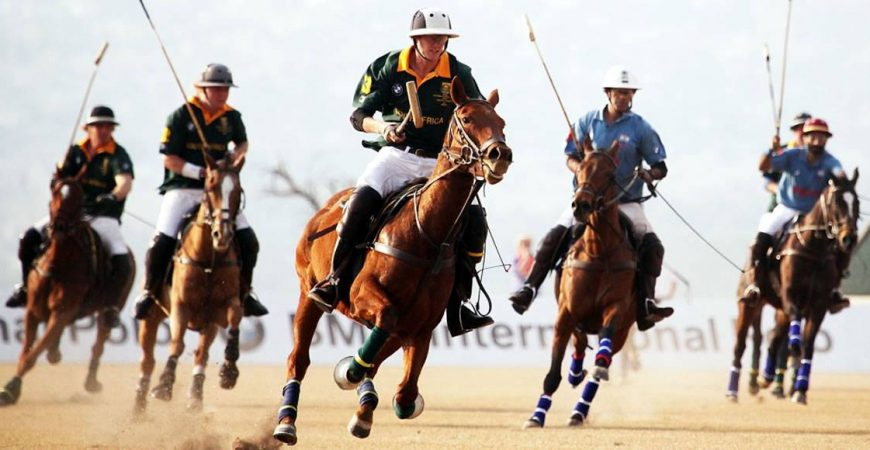 The BMW International Polo Series - South Africa vs Uruguay
