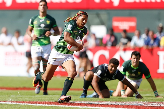 Special feeling for Blitzboks