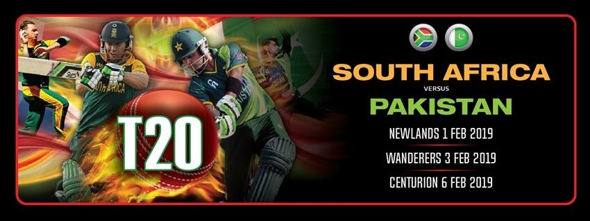 South Africa vs Pakistan - T20 Series 2019 - Beluga ...