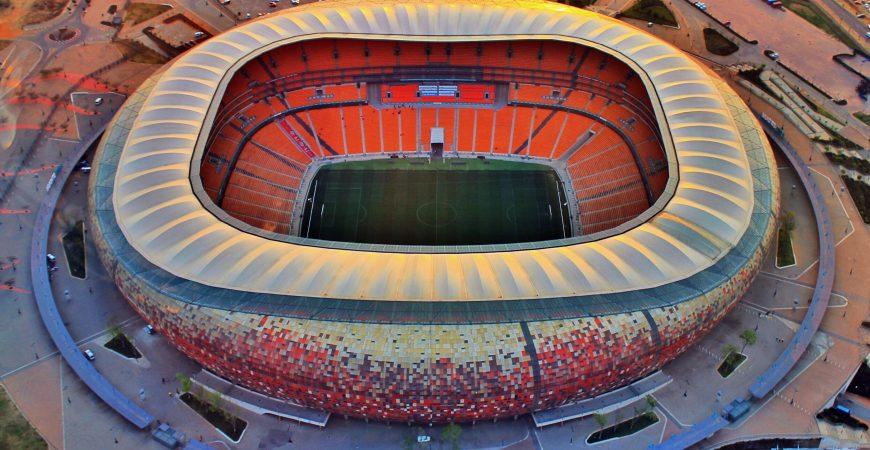 gambar 3 - fnb soccer city stadium. johannesburg afrika selatan