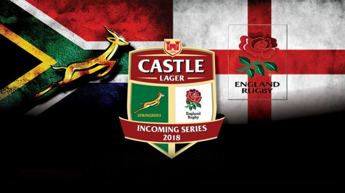 Springbok Squad for Emirates Park Test