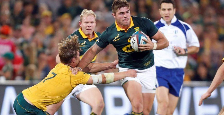 The Rugby Championship - South Africa vs Australia - Beluga slider