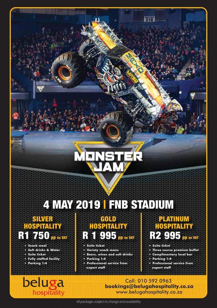 Monster Jam 2019 - Beluga Hospitality-flyer