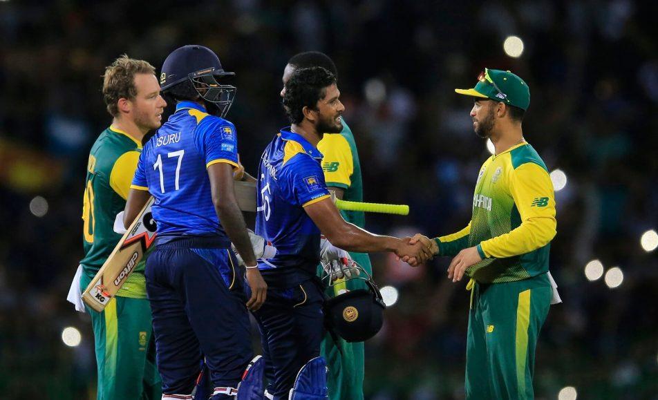 South Africa vs Sri Lanka – T20 Series 2019