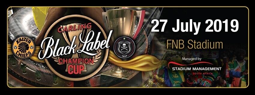Kaizer Chiefs vs Orlando Pirates - Carling Black Label Champions Cup