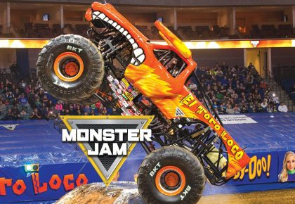 Roaring Monster Jam trucks rev up Cape Town