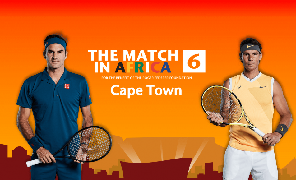 Roger Federer vs Rafael Nadal Match In Africa 6 (7 February 2020)