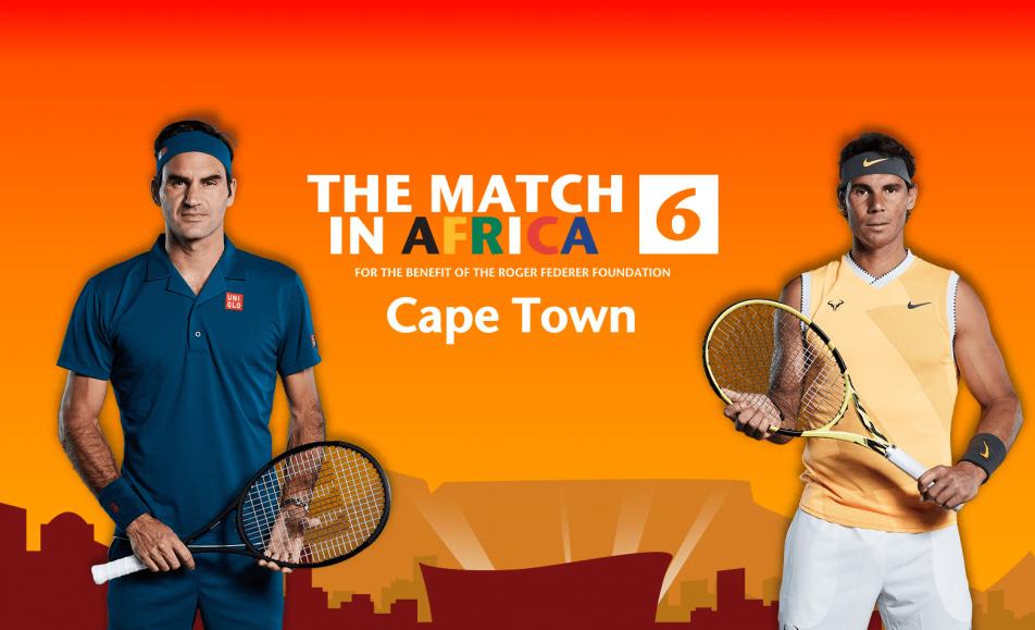 Roger Federer vs Rafael Nadal Match In Africa 6 (7 February 2020)