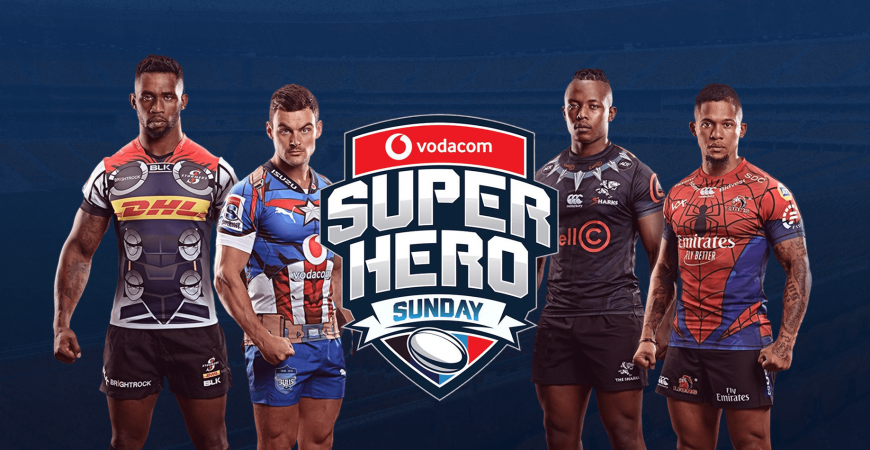 Super Hero Sunday Slider